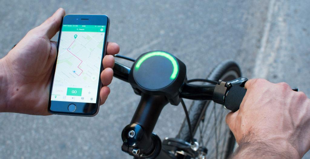 SmartHalo navigatie verlichting anti diefstal