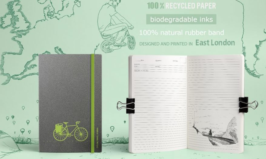 bicycle journal fiets dagboek